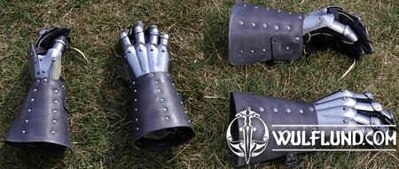 GAUNTLETS WITH LEATHER DELUXE