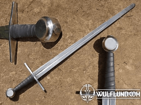SINGLE HANDED SWORD, COIN POMMEL