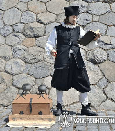 RENAISSANCE ALCHEMIST EDWARD KELLEY, COSTUME RENTAL