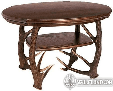 CONFERENCE TABLE, RED STAG ANTLERS