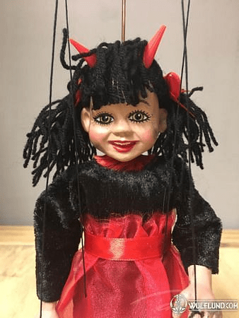LITTLE DEVIL GIRL MARIONETTE