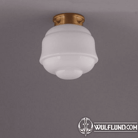 FRONTIER, CEILING LAMP, BRASS STRAIGHT FIXTURE