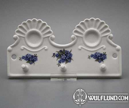 KITCHEN HOLDER PORCELAIN, FORGET-ME-NOT