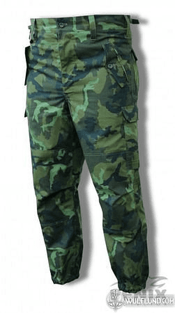 MILITARY TROUSERS, WOODLAND, VZ95, CZECH ARMY