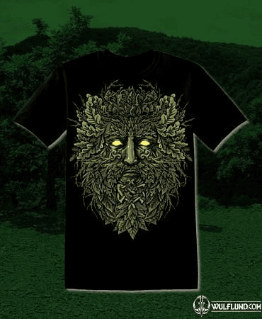 CELTIC GREENMAN, MEN'S T-SHIRT
