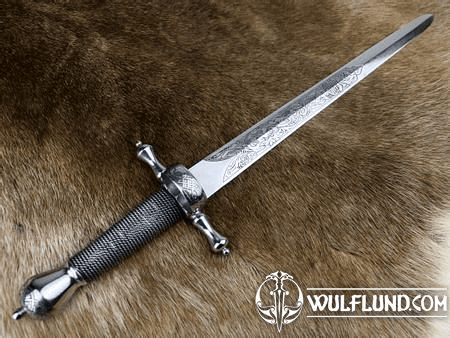 HONORIUS LUXURY ETCHED RENAISSANCE DAGGER