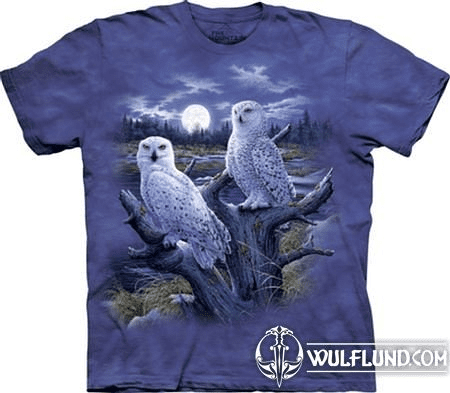 SNOWY OWLS, T-SHIRT, THE MOUNTAIN