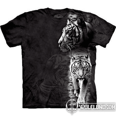 WHITE TIGERS, T-SHIRT, THE MOUNTAIN