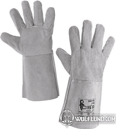 WELDING GLOVES, PALE, SIZE 11