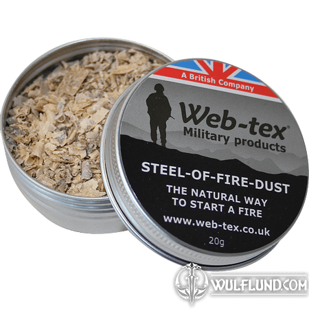 STEEL-OF-FIRE DUST