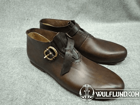 LOUIS, LEATHER MEDIEVAL SHOES