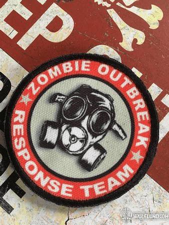 ZOMBIE OUTBREAK, VELCRO PATCH
