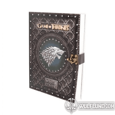 GAME OF THRONES WINTER IS COMING JOURNAL