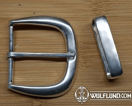 MODERN BELT BUCKLE STERLING SILVER