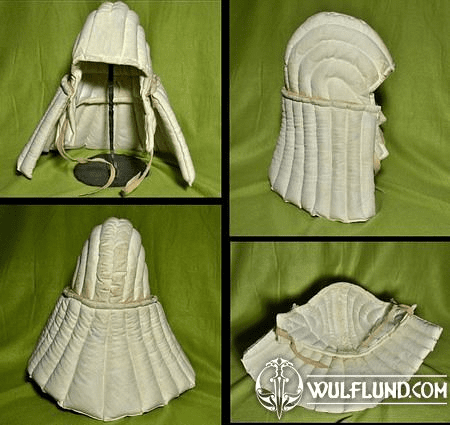 HELMET PADDING WITH NECK SHIELD