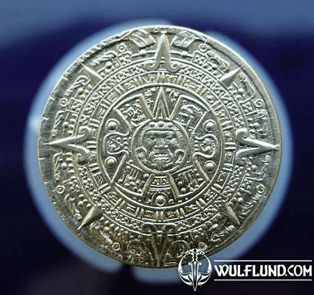 PIRATE COIN - AZTEC, BRASS