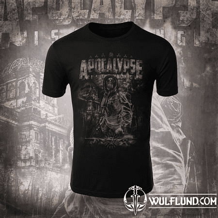 PREPPER - APOCALYPSE IS COMING, T-SHIRT B&W