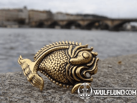 FISH BROOCH, JULES VERNE INSPIRATION