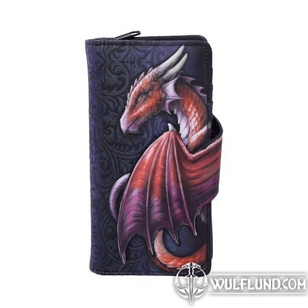 TAKE FLIGHT FLYING DRAGON EMBOSSED PURSE