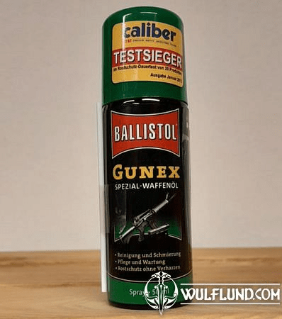 GUNEX, BALLISTOL, OIL FOR GUNS AND COLD WEAPONS, 50 ML