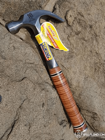 CLAW HAMMER LEATHER GRIP ESTWING USA