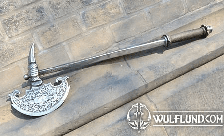 GERMAN HORSEMAN'S AXE, ETCHED, REPLICA
