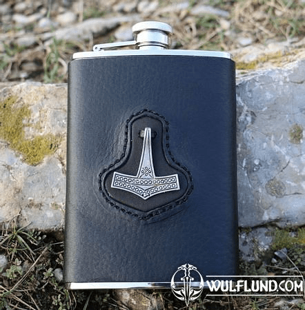 HIP FLASK, THOR'S HAMMER