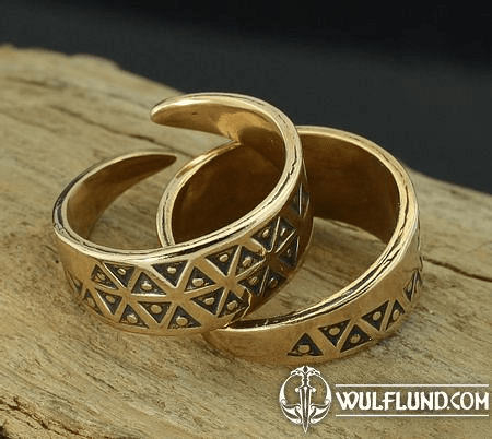 EINAR, BRONZE VIKING RING