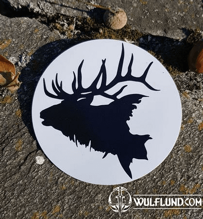 DEER CAR STICKER