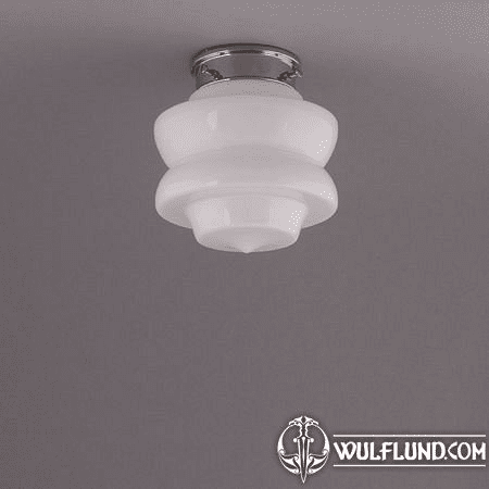 SMALL TOP, CEILING LAMP, NICKLE ROUND FIXTURE