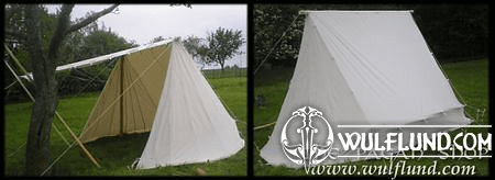 ANCIENT OR VIKING TENT, OPENABLE