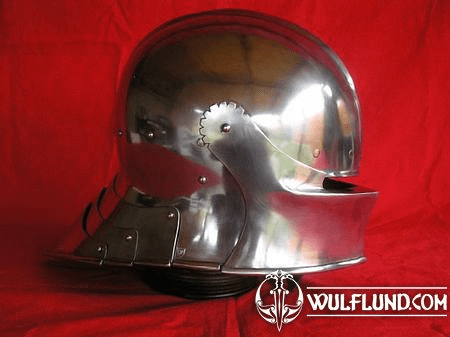 GERMAN SALLET, HIGHLY POLISHED