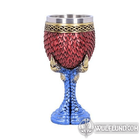 RUBY SCALE GOBLET