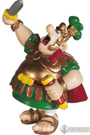 "FIGURE ""CENTURION WITH HIS SWORD"" SERIE ASTERIX"