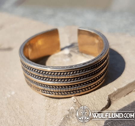 GEIR, VIKING RING, BRONZE