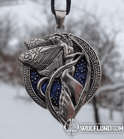 MIDNIGHT FAIRY, SILVER 925 PENDANT