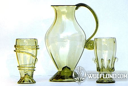 FLORENCE, HISTORICAL GLASS SET