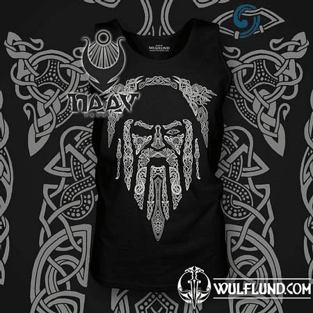 ODIN, VIKING SLEEVELESS T-SHIRT