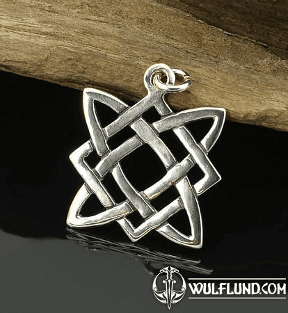 STAR OF SVAROG, SILVER PENDANT