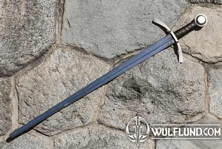 RANDWULF, SINGLE HANDED SWORD, BATTLE READY REPLICA