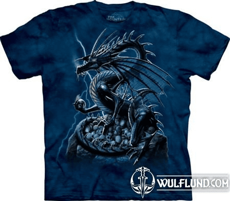 SKULL DRAGON, T-SHIRT. THE MOUNTAIN