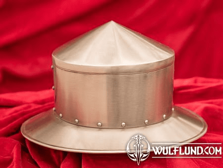 IRON HAT - RIVETED HELMET