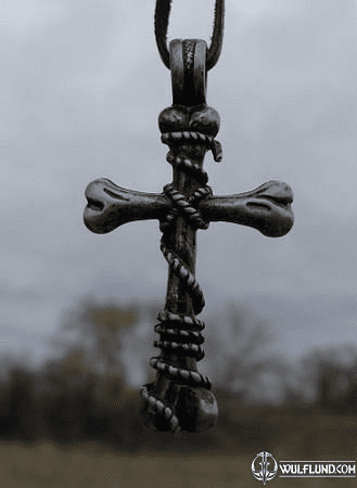 BONE CROSS, PENDANT