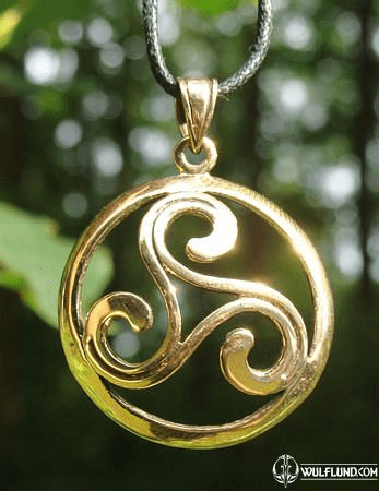CELTIC BRONZE TRISKELL
