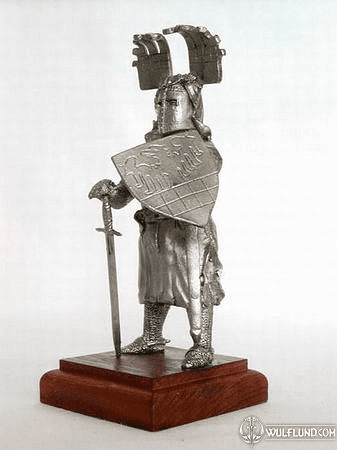 RENOLD, TIN KNIGHT FIGURE