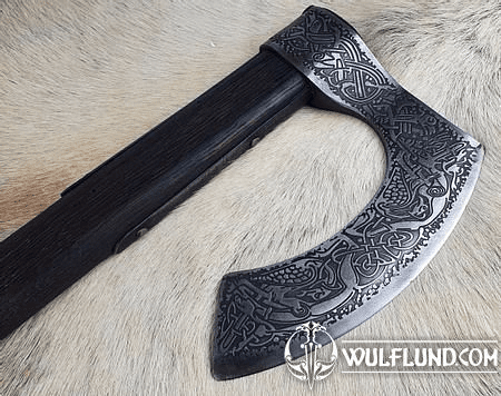 CONNOR LUXURY ETCHED AXE