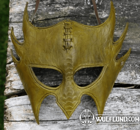GREENMAN, LEATHER MASK