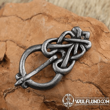 VIKING BELT BUCKLE, FRÖJEL, SWEDEN ZINC