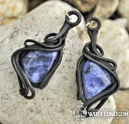 SODALITE - EARRINGS