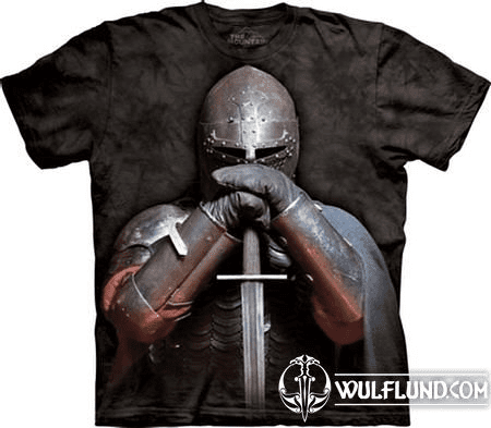 MEDIEVAL KNIGHT, T-SHIRT THE MOUNTAIN, USA